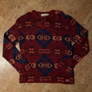 NWT Denim & Supply Aztec Sweater